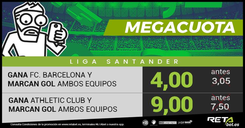 RETAbet Megacuota Athletic Barcelona