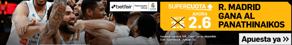 Betfair Madrid Panathinaikos