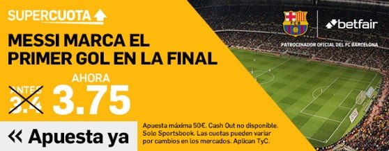 Betfair Messi marca primer gol Final Copa