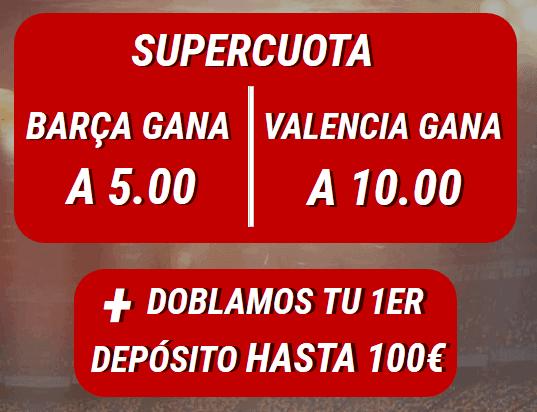 Sportium Barça Valencia portada