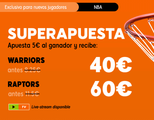 888Sport Warriors Raptors portada