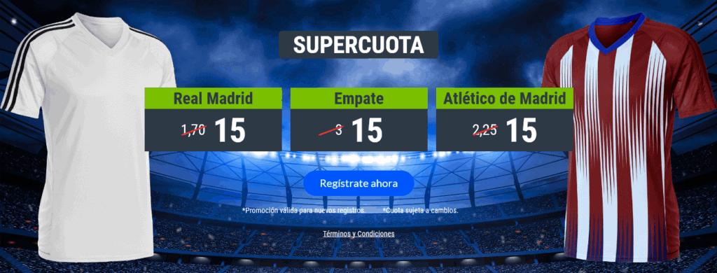 Codere Real Madrid Atlético de Madrid portada