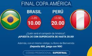 Marathonbet Brasil Perú