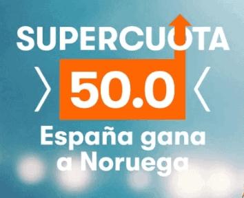 Betsson Noruega España portada