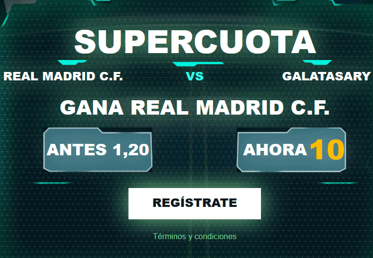 Codere Real Madrid Galatasaray portada