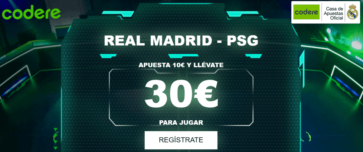 Codere Real Madrid PSG