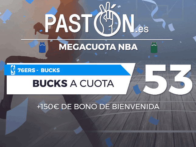 Pastón 76ers vs Bucks