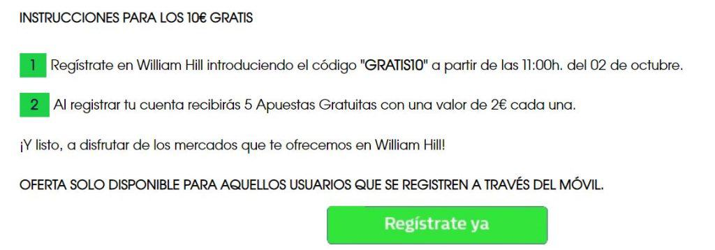 bono william hill móviles