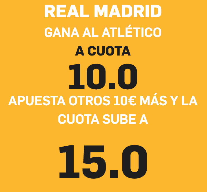 Betfair Real Madrid Atlético