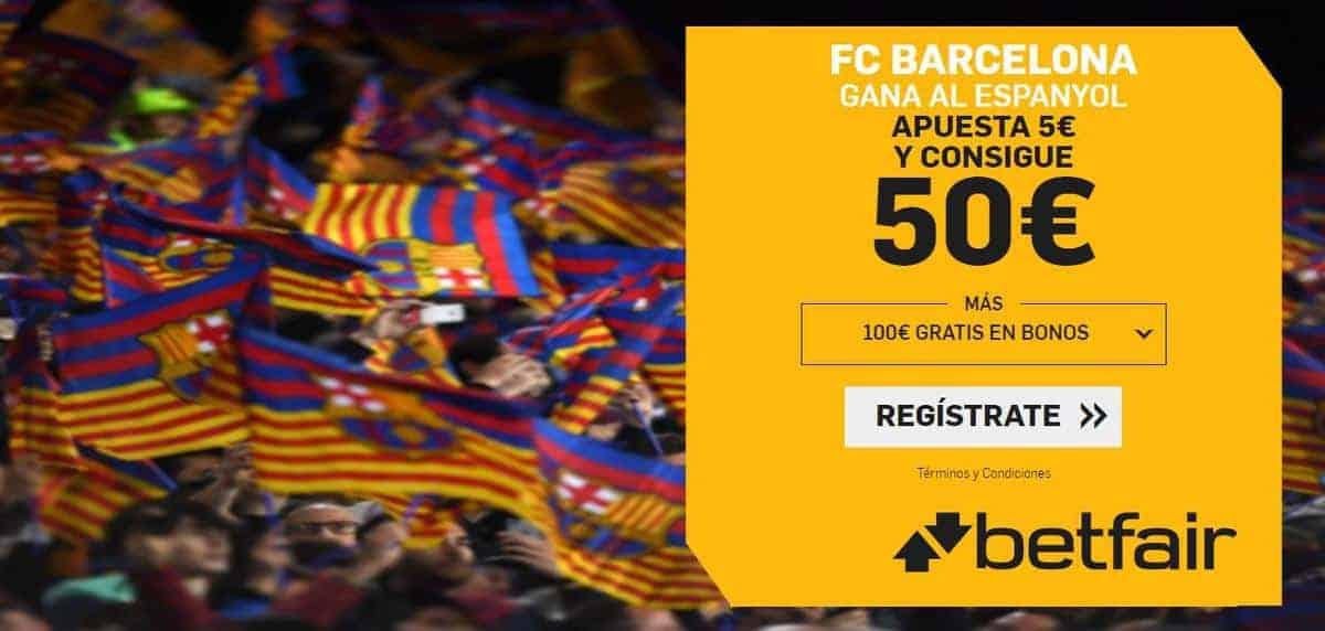 supercuota betfair espanyol barcelona