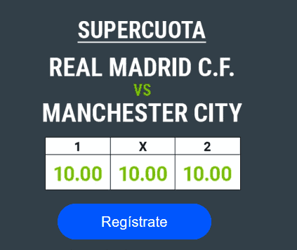 Codere Real Madrid Manchester City portada