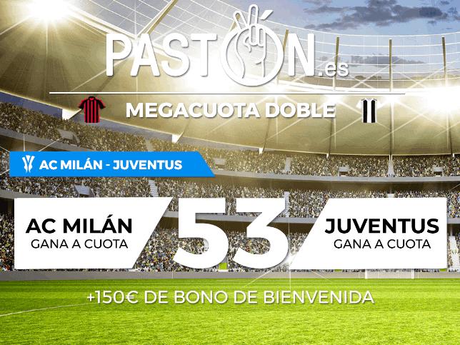 Pastón Milán Juventus