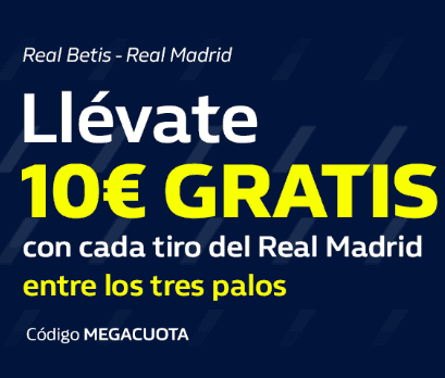 William Hill Betis Real Madrid portada