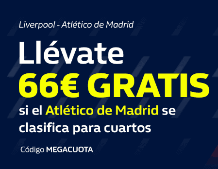 William Hill Liverpool Atlético portada