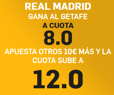 Betfair Madrid Getafe portada