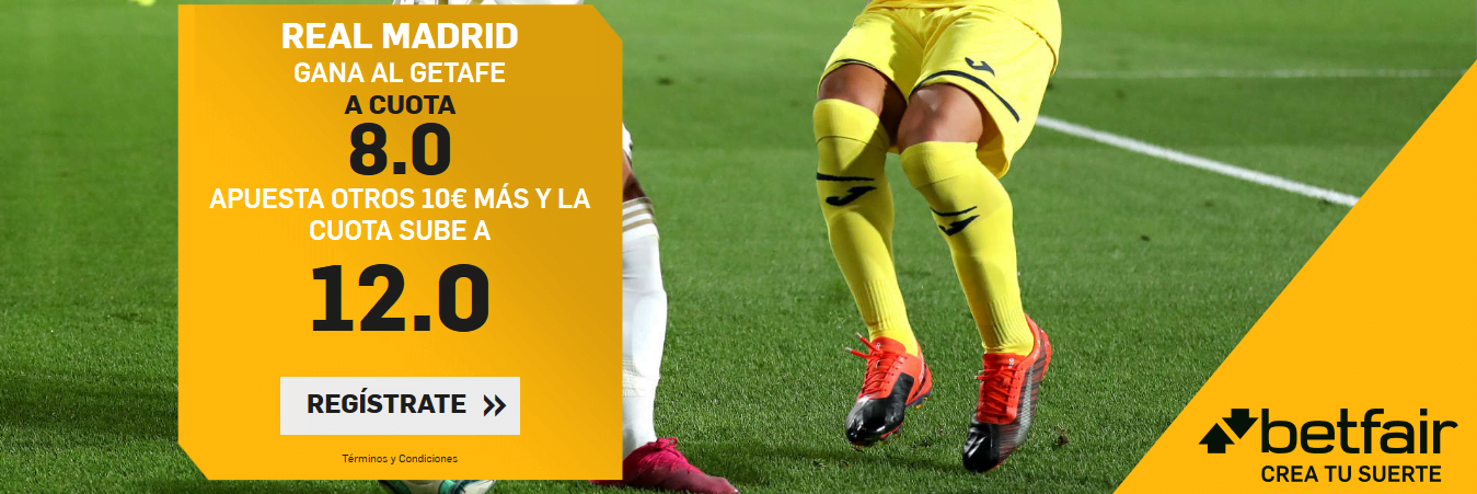Betfair Madrid Getafe