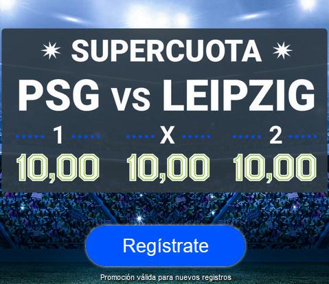 Codere PSG Leipzig portada