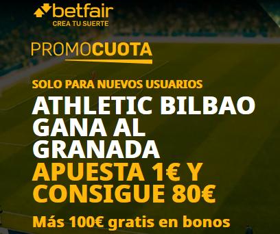 Betfair Granada Athletic portada