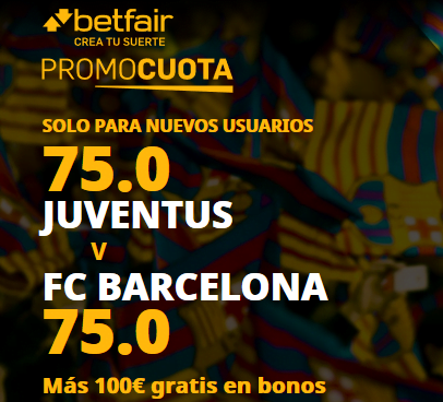 Betfair Juventus Barcelona portada