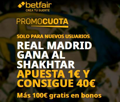 Betfair Madrid Shakhtar portada