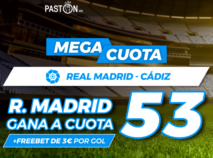 Paston Real Madrid Cadiz portada