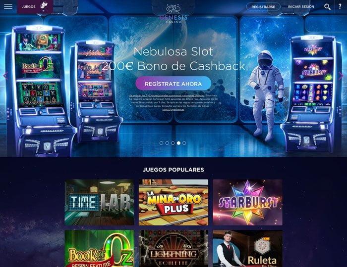 Análisis de Slots en Genesis Casino: Un mundo por explorar