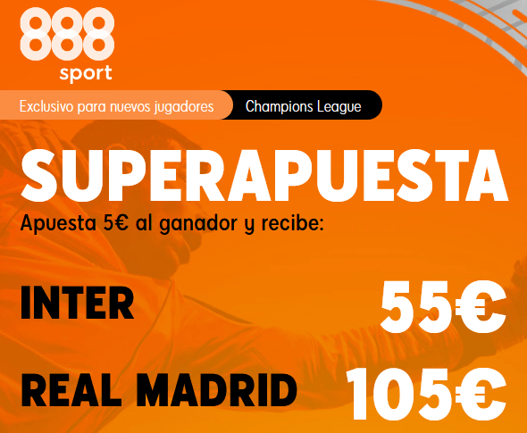 888Sport Inter Real Madrid portada
