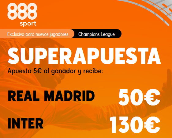 888Sport Real Madrid Inter portada