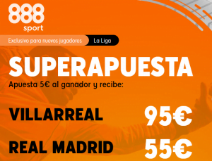 888Sport Villarreal Real Madrid portada