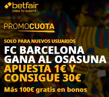 Betfair Barcelona Osasuna portada