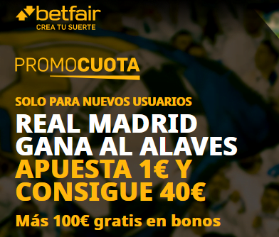 Betfair Madrid Alaves portada