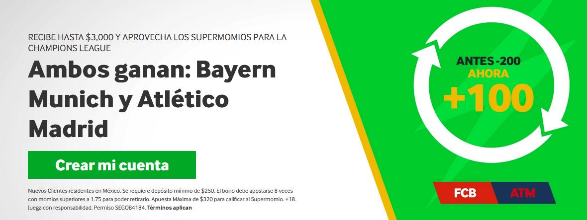 Bayern y Atlético ganan