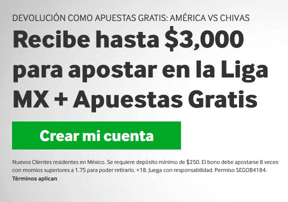 Betway Liga MX Apuestas Gratis portada