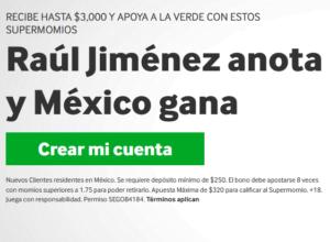 Betway Raul Jimenez portada