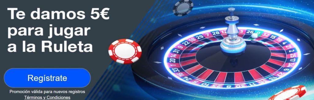 bono ruleta gratis codere