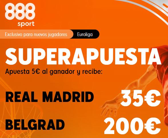 888Sport Estrella Roja Madrid Euroliga portada