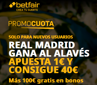 Betfair Alaves Real Madrid portada