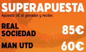 Superapuesta 888sport Real Sociedad - United