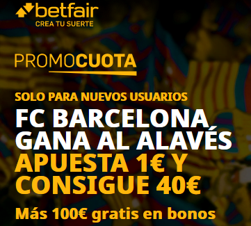 Betfair Barcelona Alaves