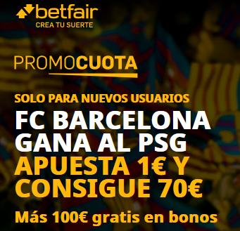 Betfair Barcelona PSG portada