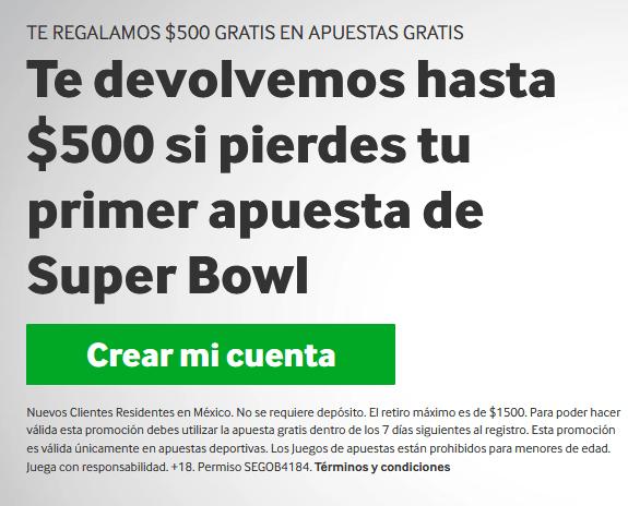 Betway MX Supero Bowl portada