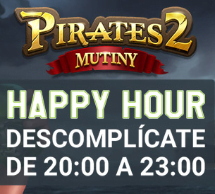 Codere MX Happy Hour Pirates 2 Mutiny portada