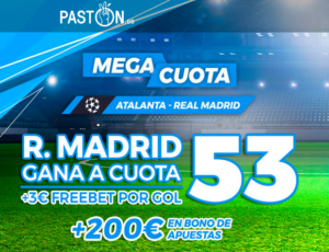 Paston Atalanta Real Madrid portada