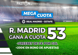 Paston Real Madrid Getafe portada