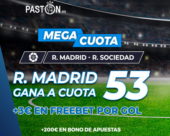 Paston Real Madrid Real Sociedad portada