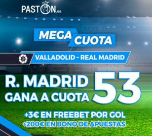 Paston Valladolid Real Madrid portada