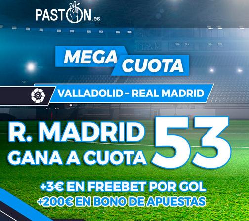 Paston Valladolid Real Madrid portada
