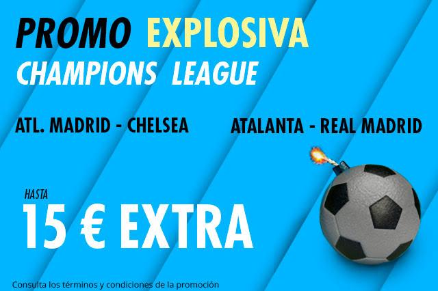 Suertia Promo Explosiva Atletico Chelsea