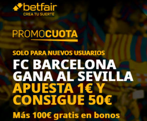 Betfair Barcelona Sevilla portada
