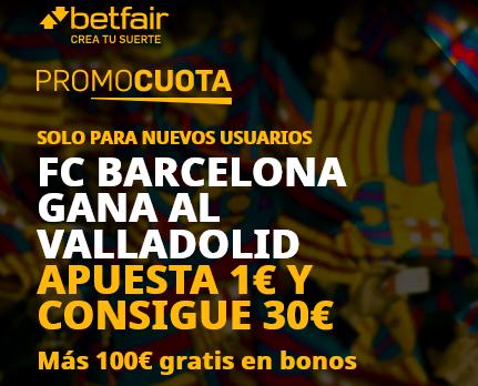 Betfair Barcelona Valladolid portada